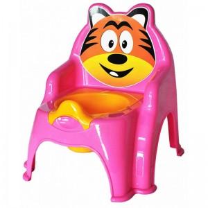 Olita pentru copii Doloni cu tigru, roz