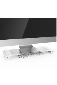 Suport organizator cu 4 sloturi USB Space Bar pentru Mac