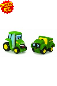 John Deere Set Tractorul Johnny si Allie Gator