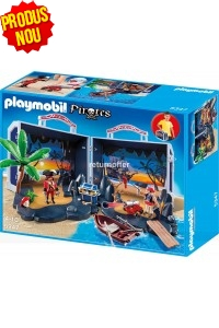 Comoara piratilor Playmobil